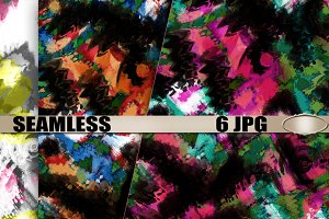 "Seamless patterns ""Smears of paint"""