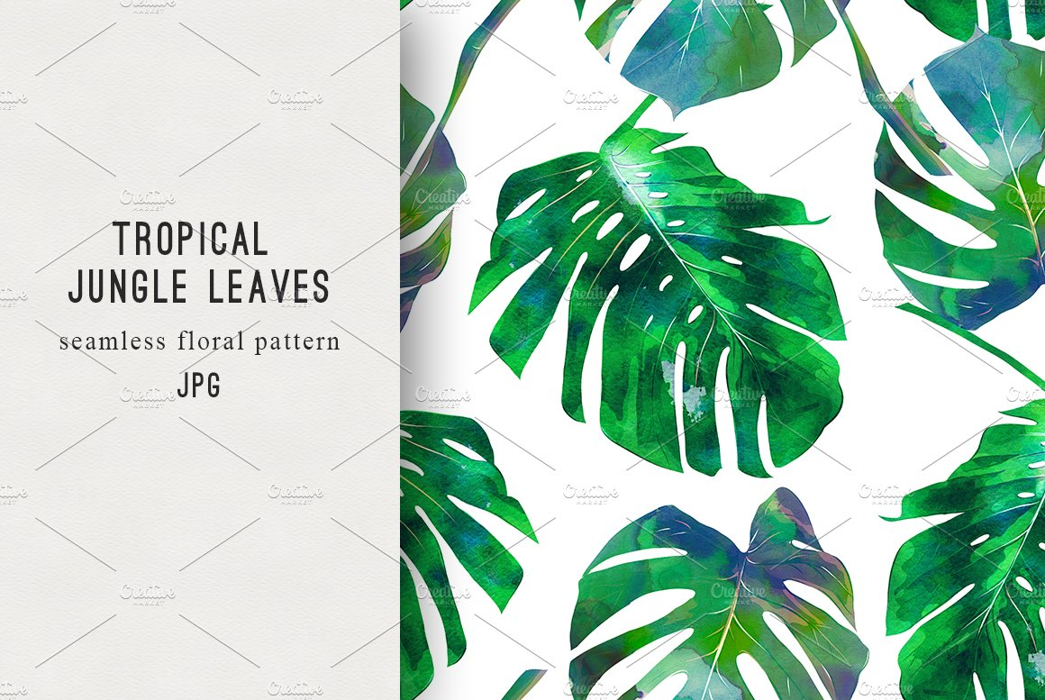 how to make jungle leaves