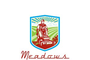 Meadows Lawnmowing Logo