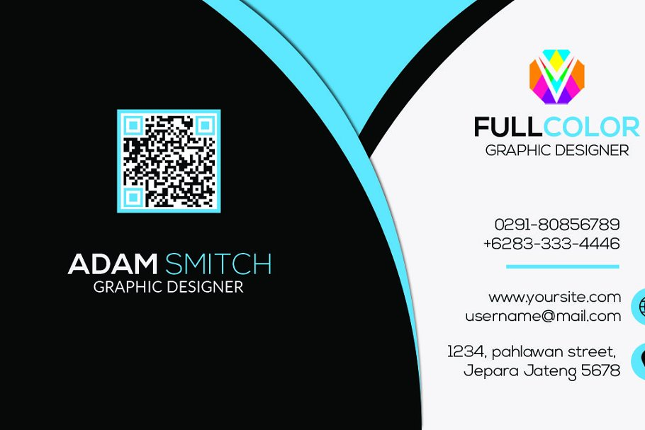 Clasic Modern Business Card in Business Card Templates