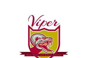 Viper Pest Control Logo
