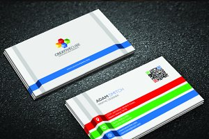 Variasi Warna Business Card