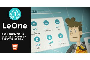 LeOne - Onepage Portfolio Template