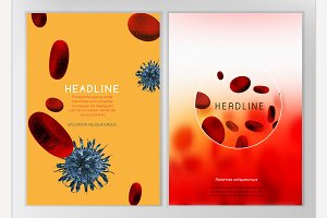 Blood Cell Brochure Design
