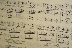 Handwritten Sheet Music