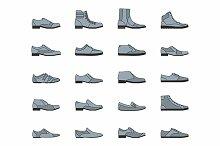 Footwear icon