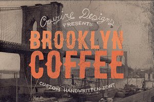 Brooklyn Coffee Custom Font