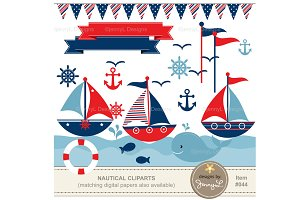 Nautical Boys Cliparts