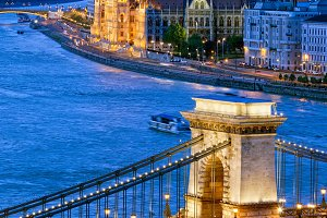 City of Budapest by Night