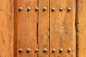 old vintage wooden door , background