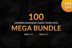 100 Modern Business Card Templates