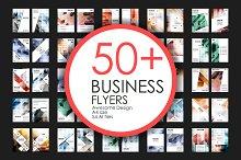 50+ Business Flyers Bundle