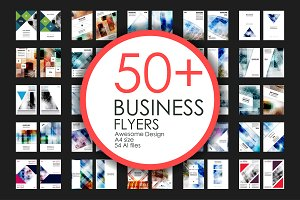 50+ Business Flyers Bundle