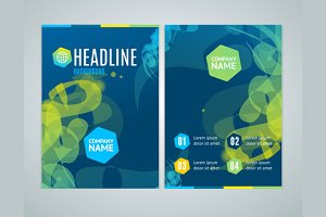 Geometric Swirl Brochure Flyer