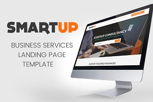 SmartUp - Business Landing Page