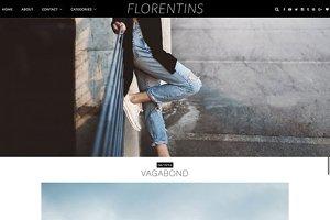 "Wordpress Theme ""Florentins"""