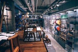 Vivid Store Interior