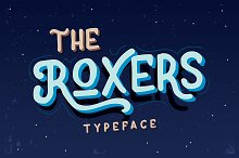 The Roxers Typeface
