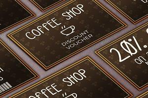 Coffee Shop Discount Voucher