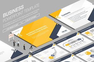 Business Powerpoint Template vol.9