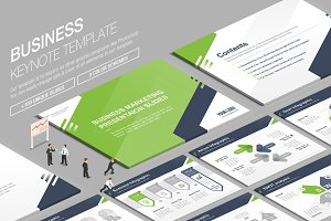 Business Keynote Template vol.9