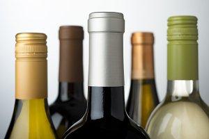 Wine bottle assortment