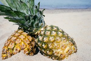 Pineapples in the Sand