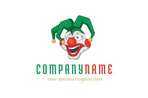 Crazy Clown Logo