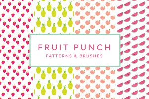 Fruit Punch Patterns & Brushes
