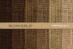 Brown Burlap Digital Paper Scrapbook