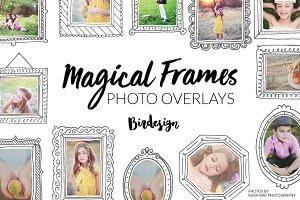 Photo Overlays   Magical frames