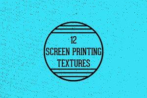 Screen Printing Textures
