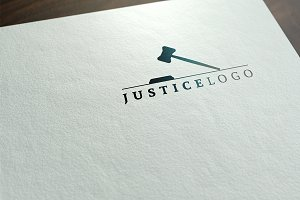 Justice Logo Template (2 versions)