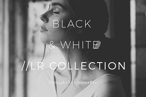 Black and White LR Preset Collection