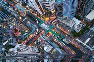 The Skytrain station Chong Nonsi
