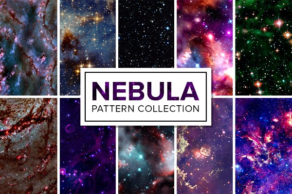 60 Space Patterns Bundle