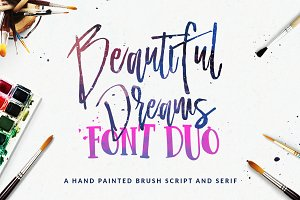 Beautiful Dreams - Font Duo