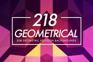 Geometrical Polygon Texture 218
