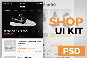 SHOP - UI KIT