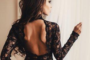 pretty woman on underwear