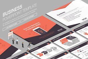 Business Powerpoint Template vol.10