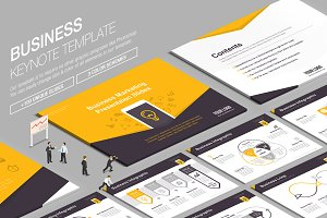 Business Keynote Template vol.10