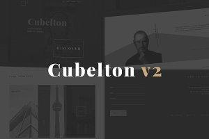 Cubelton V2 Modern HTML theme