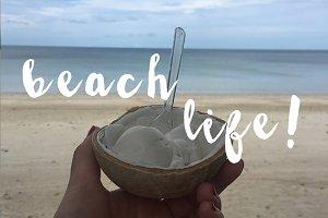 Island life: Beach mode