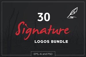 30 Signature Logos Bundle