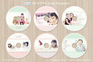 CD / DVD Label Templates