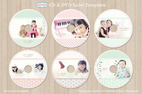 cd dvd label templates stationery templates creative market