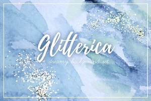 Glitterica Background Set