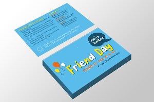 Friend Day Invite - Kids