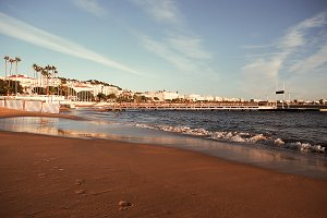 January in Cannes